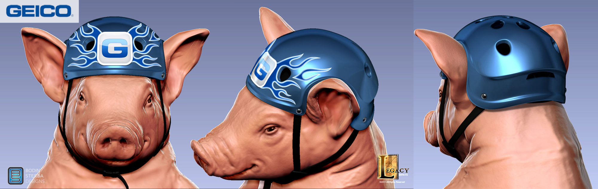 Geico Piggy Zip Line Commercial | BODIN STERBA DESIGN