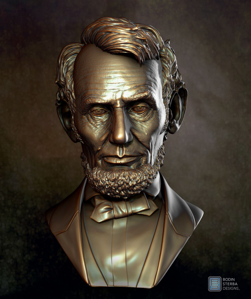 Lincoln Bust 9