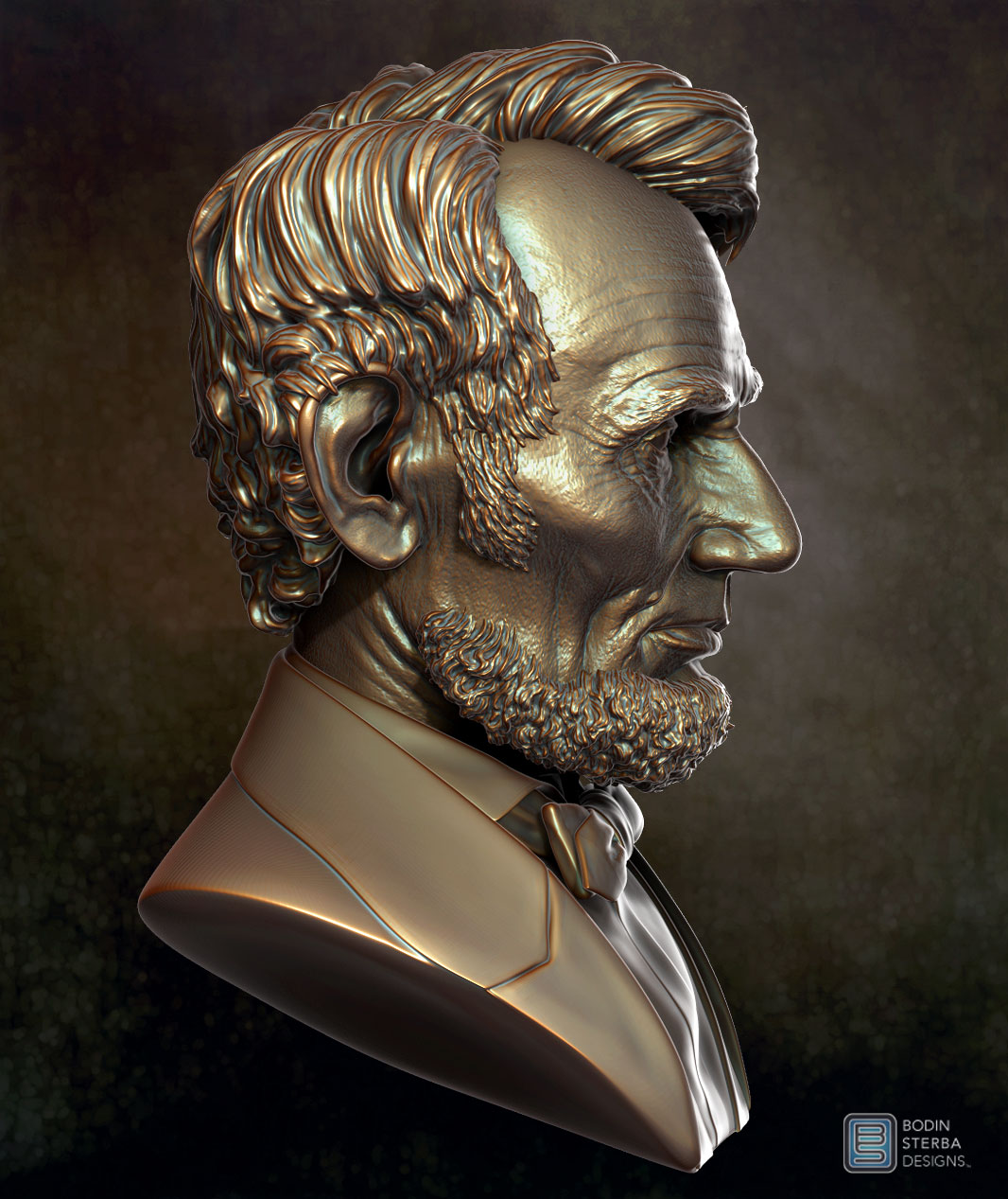 Lincoln Bust 18